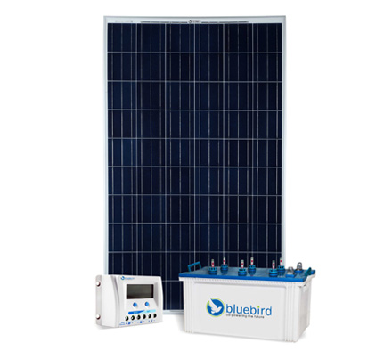 Solar Power Pack With Charge Controller