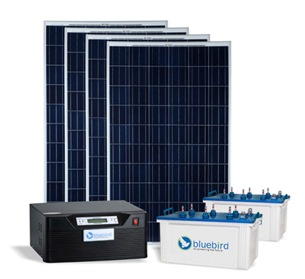 Solar Power Pack With Inverter