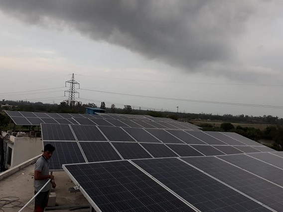 45 KW Solar power plant